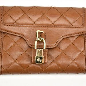 BURBERRY Brown, Leather & Prorsum Knight Wallet rv
